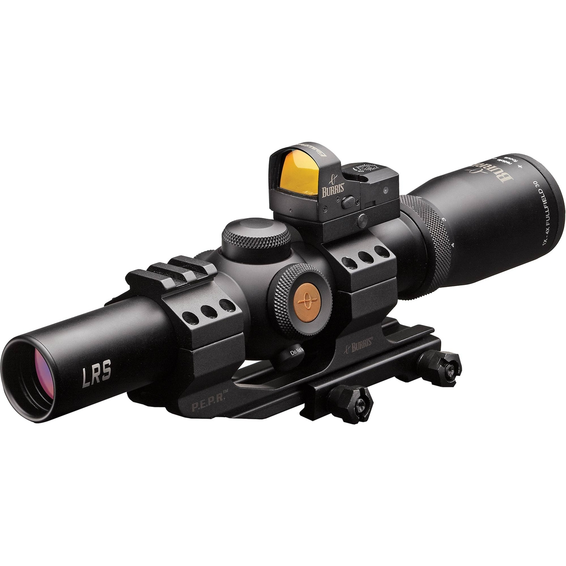 Burris Mtac Rifle Scope 1 4x24 With Fastfire Iii And Mount Scopes