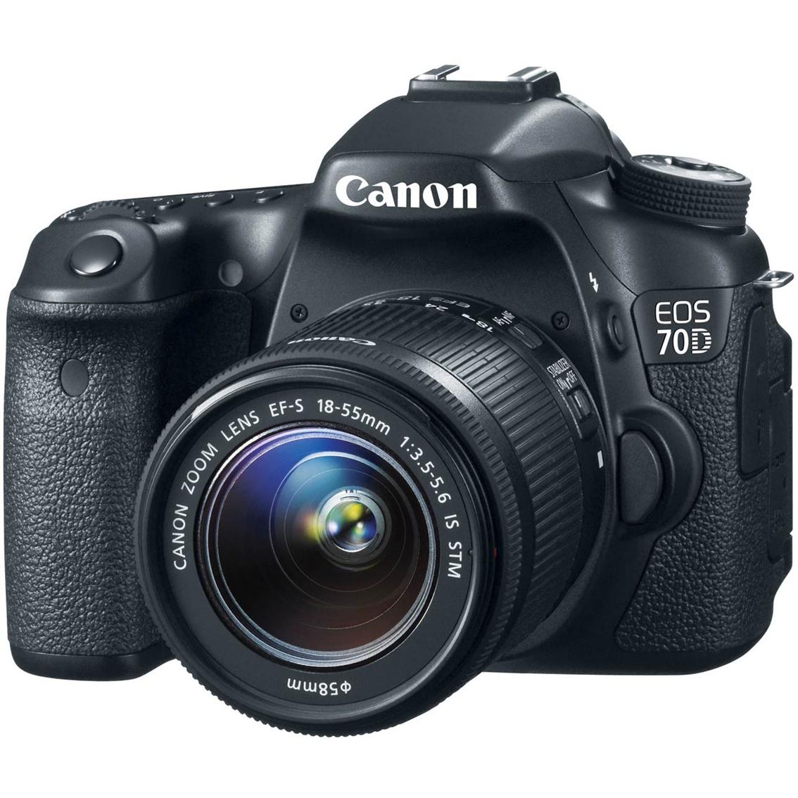 Camera Canon Dslr Camera 70d canon eos 70d 20 2mp dslr camera with ef s 18 55mm image cameras 1007
