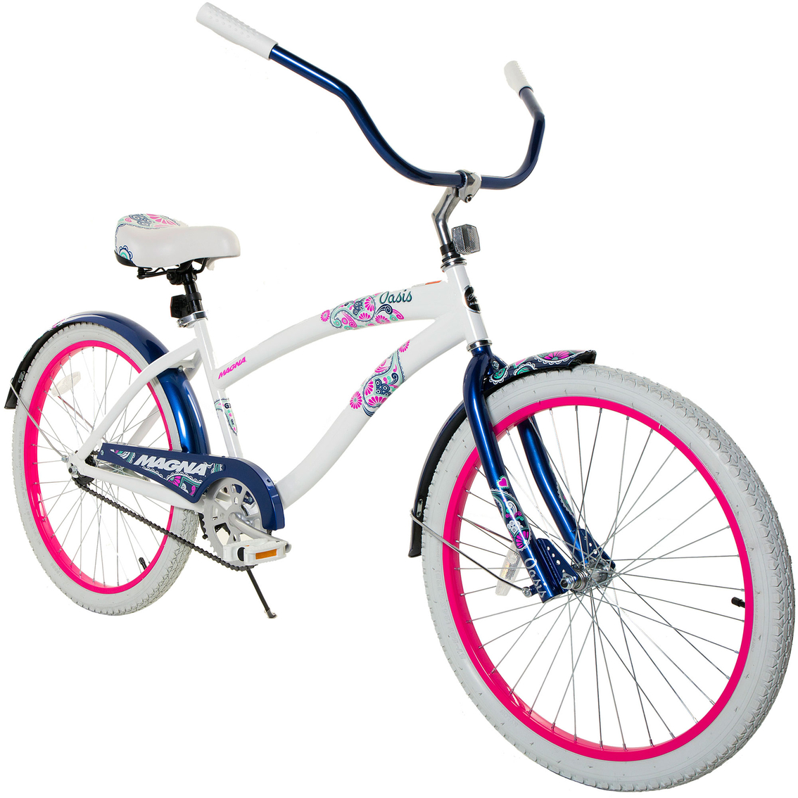 Magna Womens 24 In Oasis Cruiser Bicycle Adult Bikes Sports