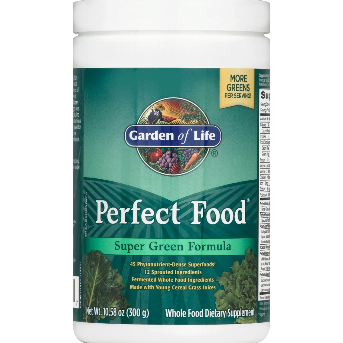 Garden of life perfect food super green formula supplement for Garden of life super green