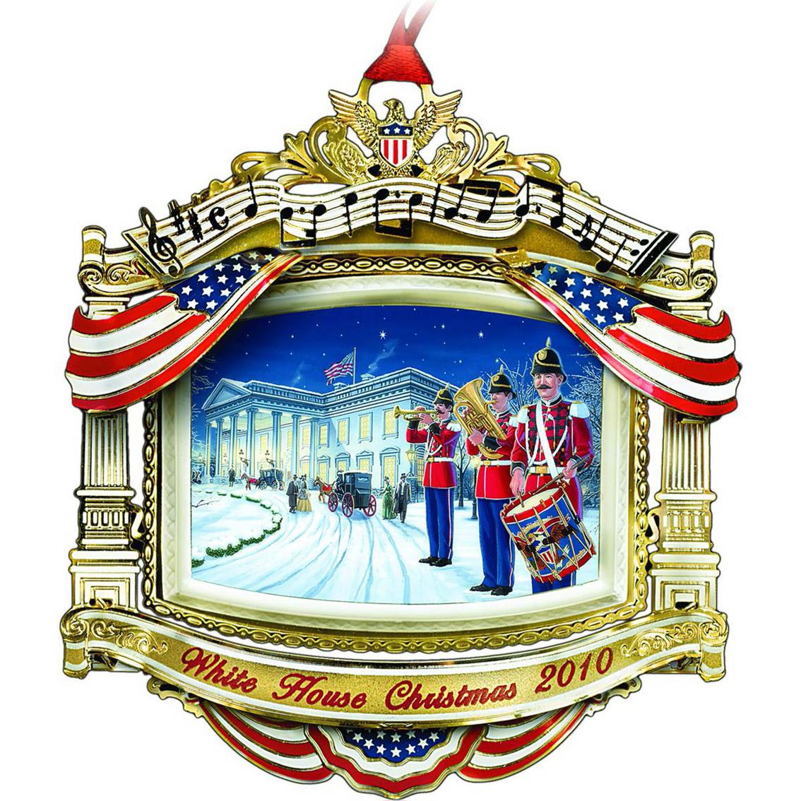 White House Christmas Ornament.Chemart 2010 White House Christmas Ornament Ornaments