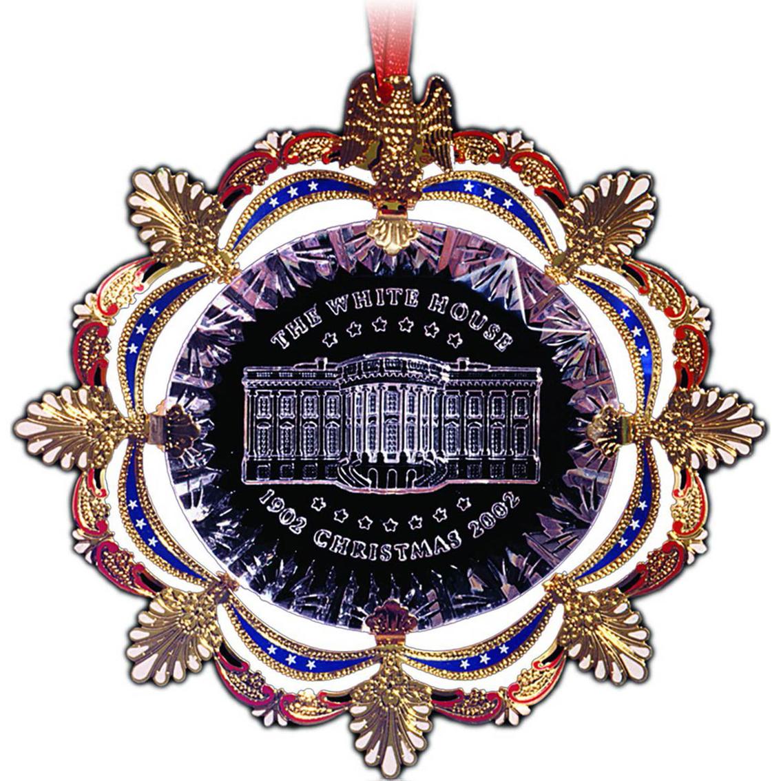 White House Christmas Ornament.Chemart 2002 White House Christmas Ornament Ornaments