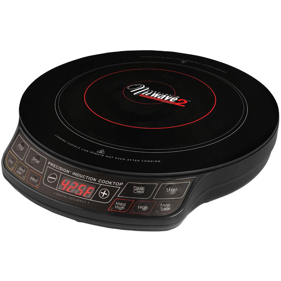Nuwave Induction Cooker ~ Nuwave induction cooktop with in ceramic frying pan
