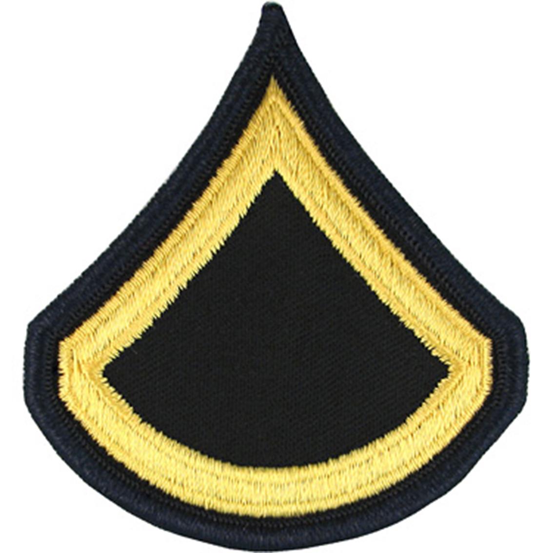 Army Rank Pfc Small Asu Sew-on | Small Asu Rank | Military | Shop The