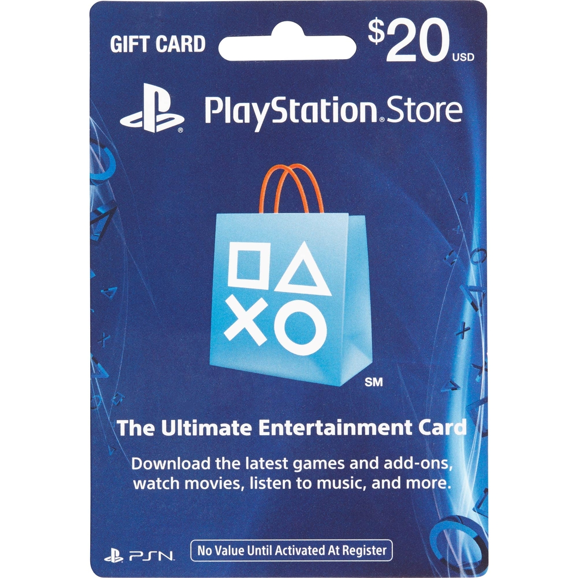 Sony Playstation Store Gift Card $20.00