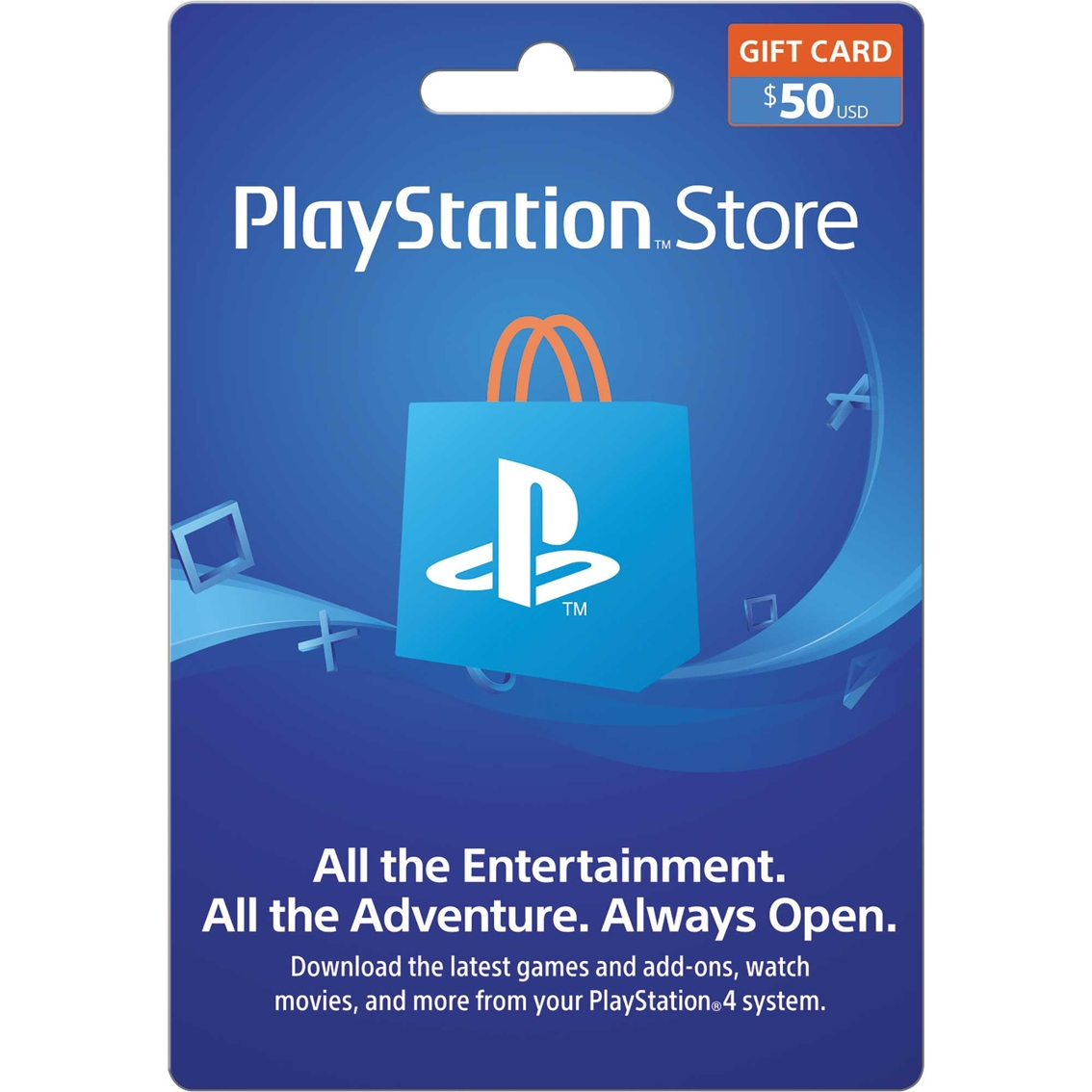 Sony Playstation Store Gift Card $50.00