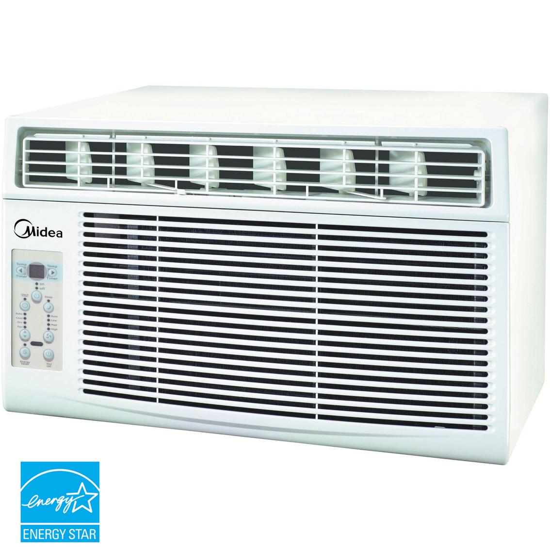 Midea 12 000 btu window air conditioner window air for Window air conditioner