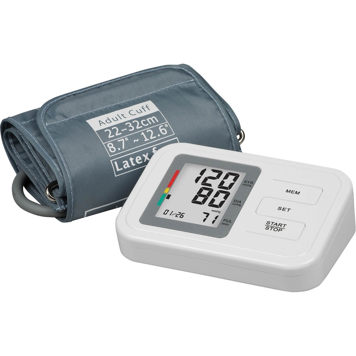 exchange select automatic digital arm blood pressure monitor