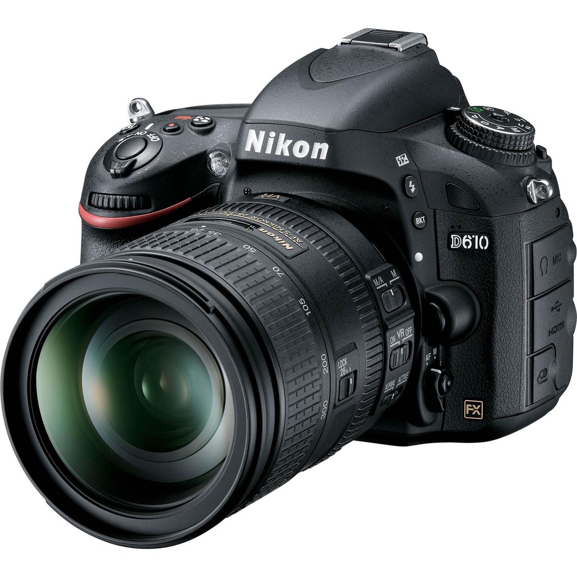 Camera Hd Dslr Cameras nikon d610 24 13mp hd dslr camera with 28 300mm vr lens lens