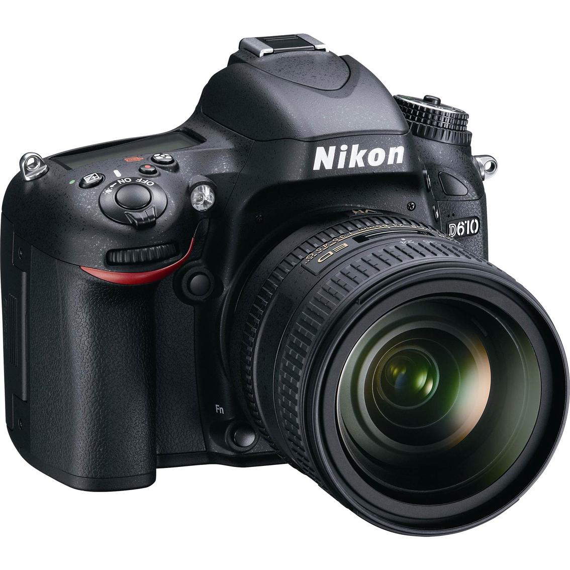Camera Hd Dslr Cameras nikon d610 24 13mp hd dslr camera with 85mm vr lens lens