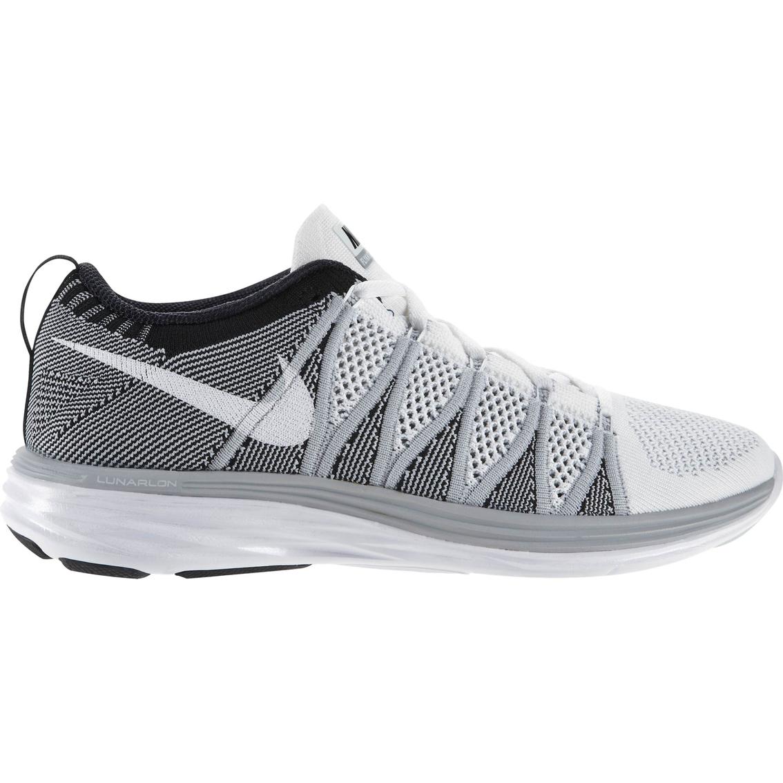 2c7cb3554572 Nike Men s Flyknit Lunar2 Running Shoes