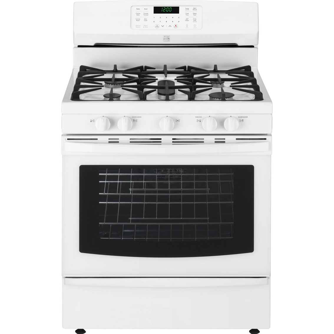 Gas Kitchen Appliances Kenmore 56 Cu Ft Gas Range With Convection Gas Ranges Home