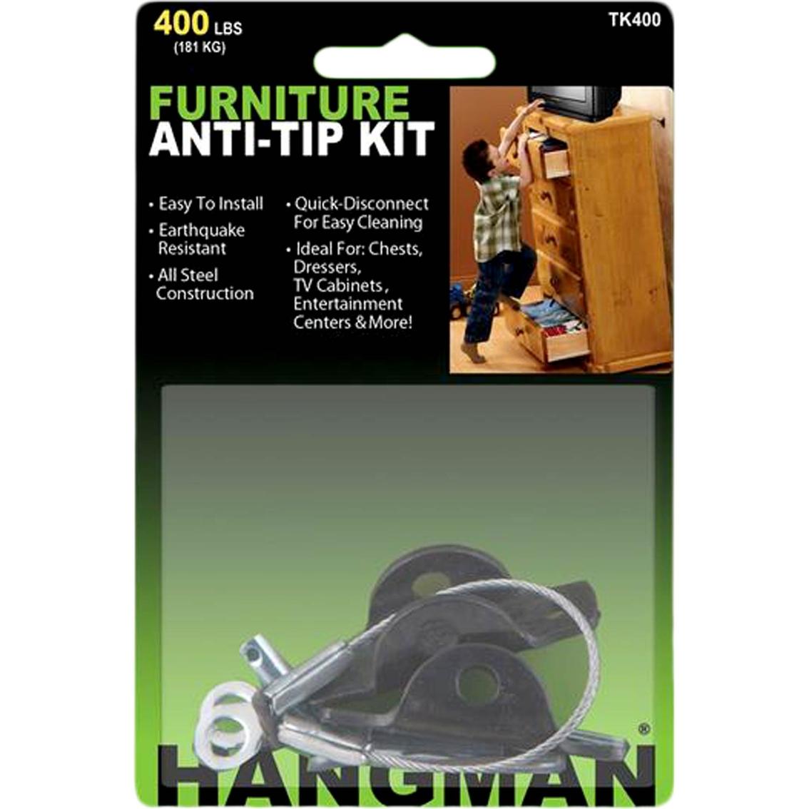 Hangman Furniture Anti Tip Kit Home