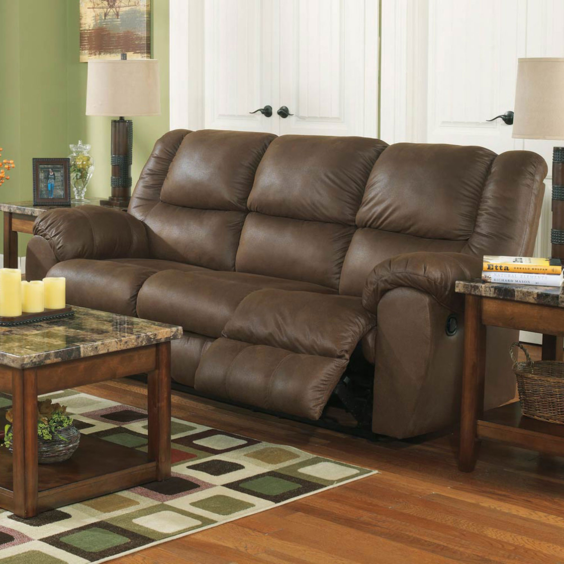 Ashley Reclining Sofa Roselawnlutheran