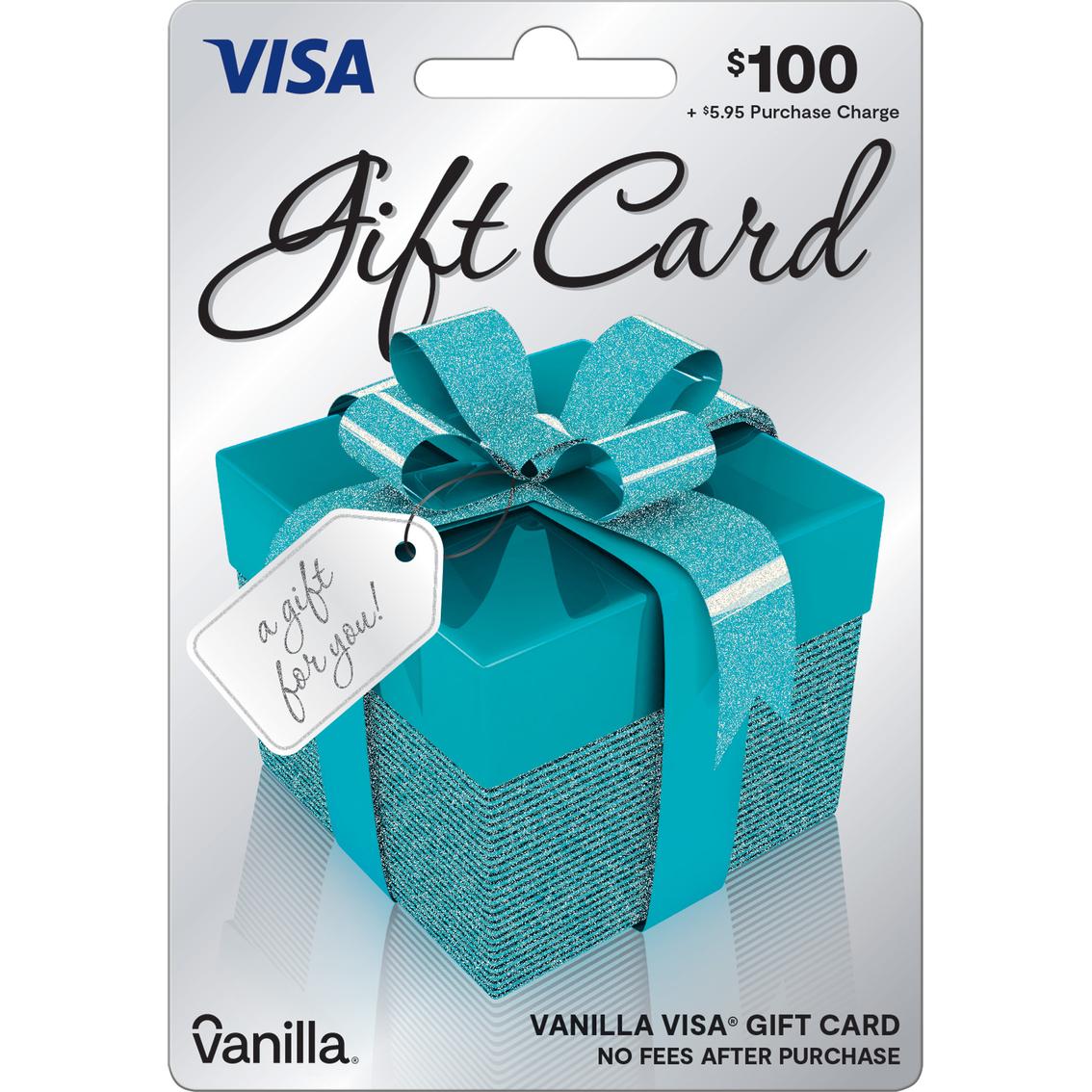 Vanilla Visa Gift Box Giftcard