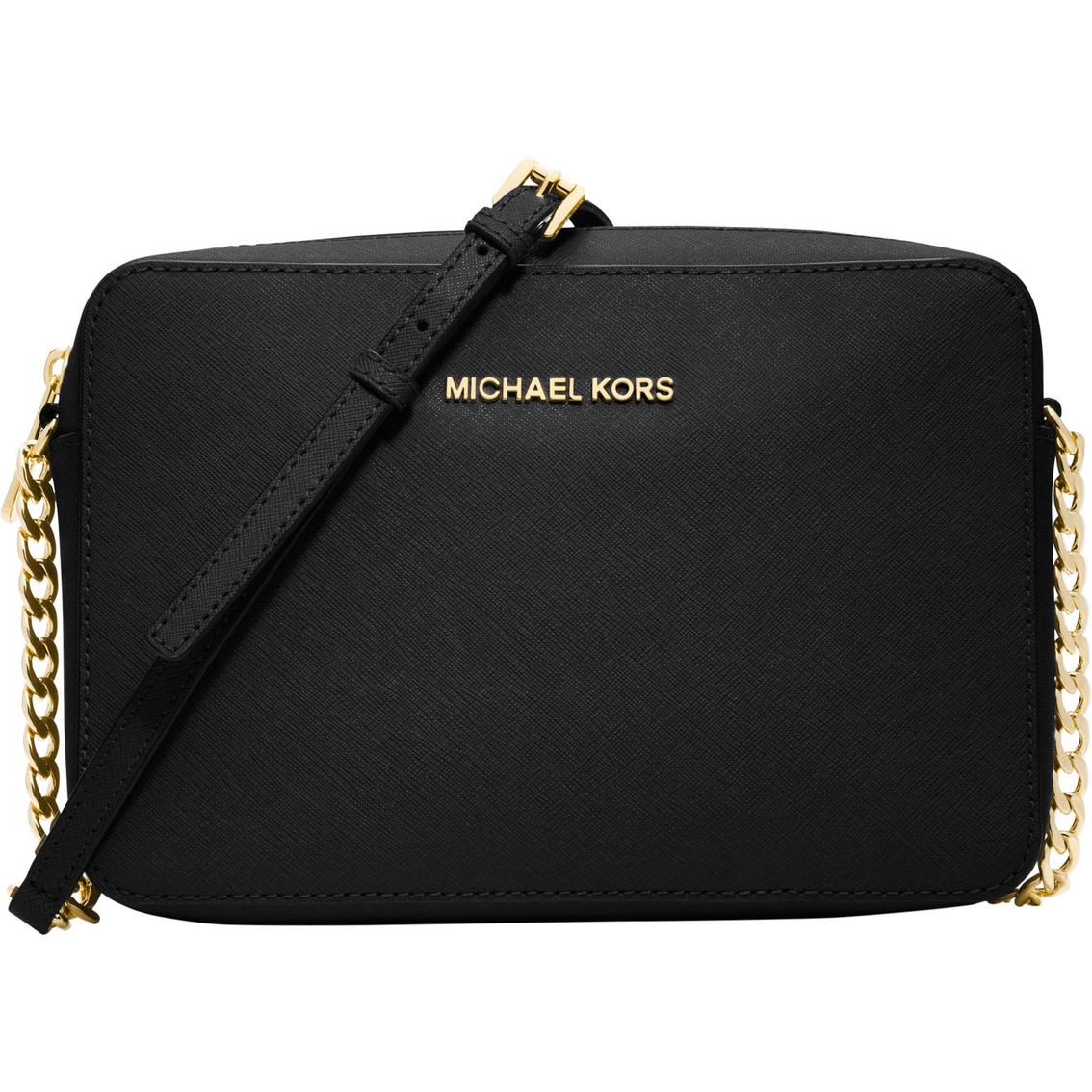michael kors jet set travel large east west crossbody handbags apparel shop the exchange. Black Bedroom Furniture Sets. Home Design Ideas