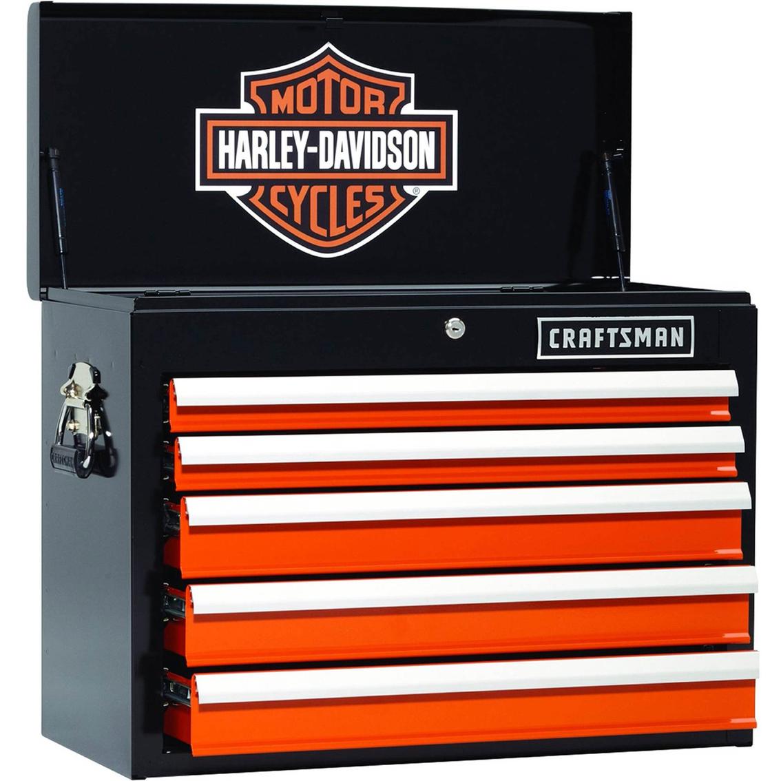 Craftsman Harley Davidson 26 In 5 Drawer Chest Tool