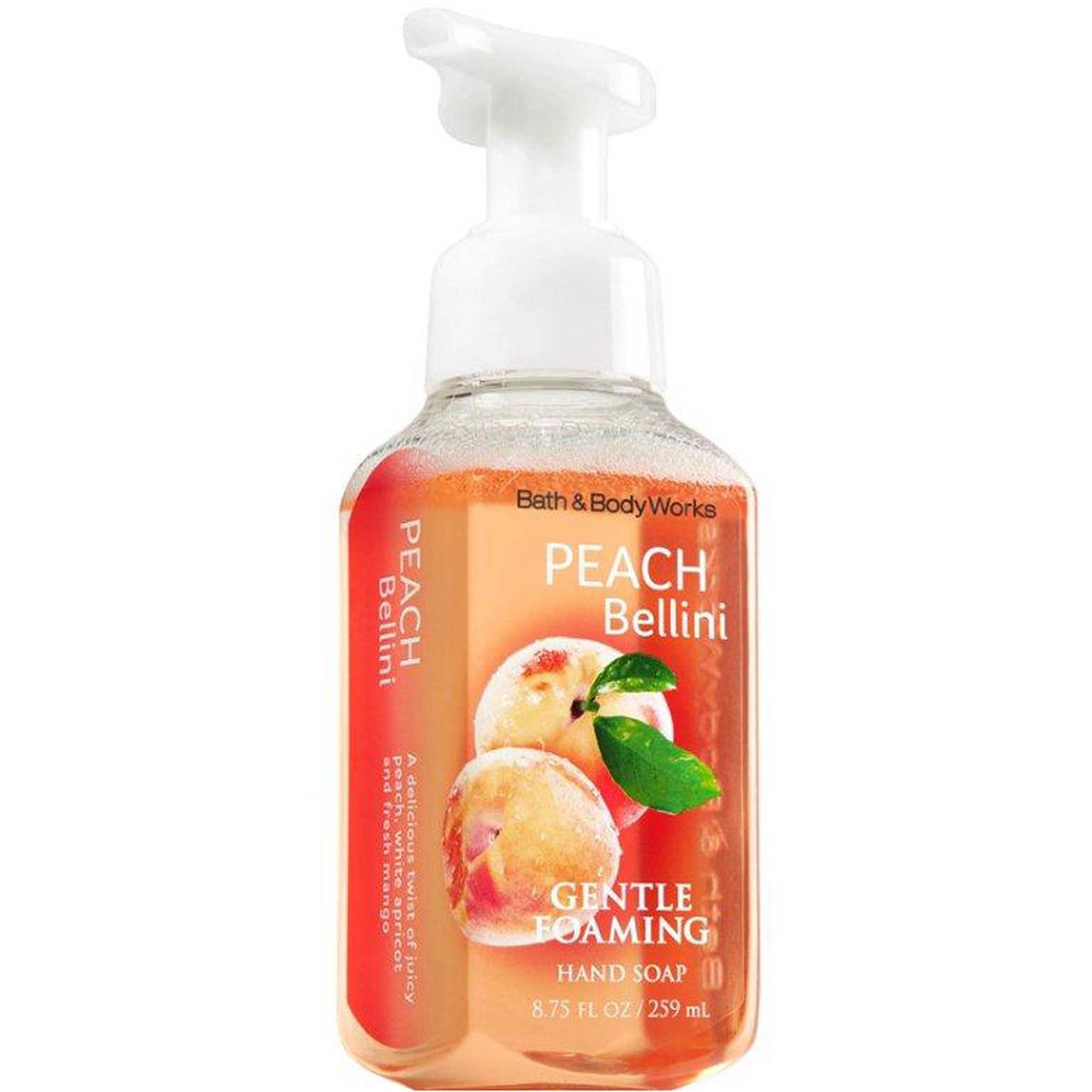 Bath Body Works Peach Bellini Gentle Foaming Hand Soap Signature