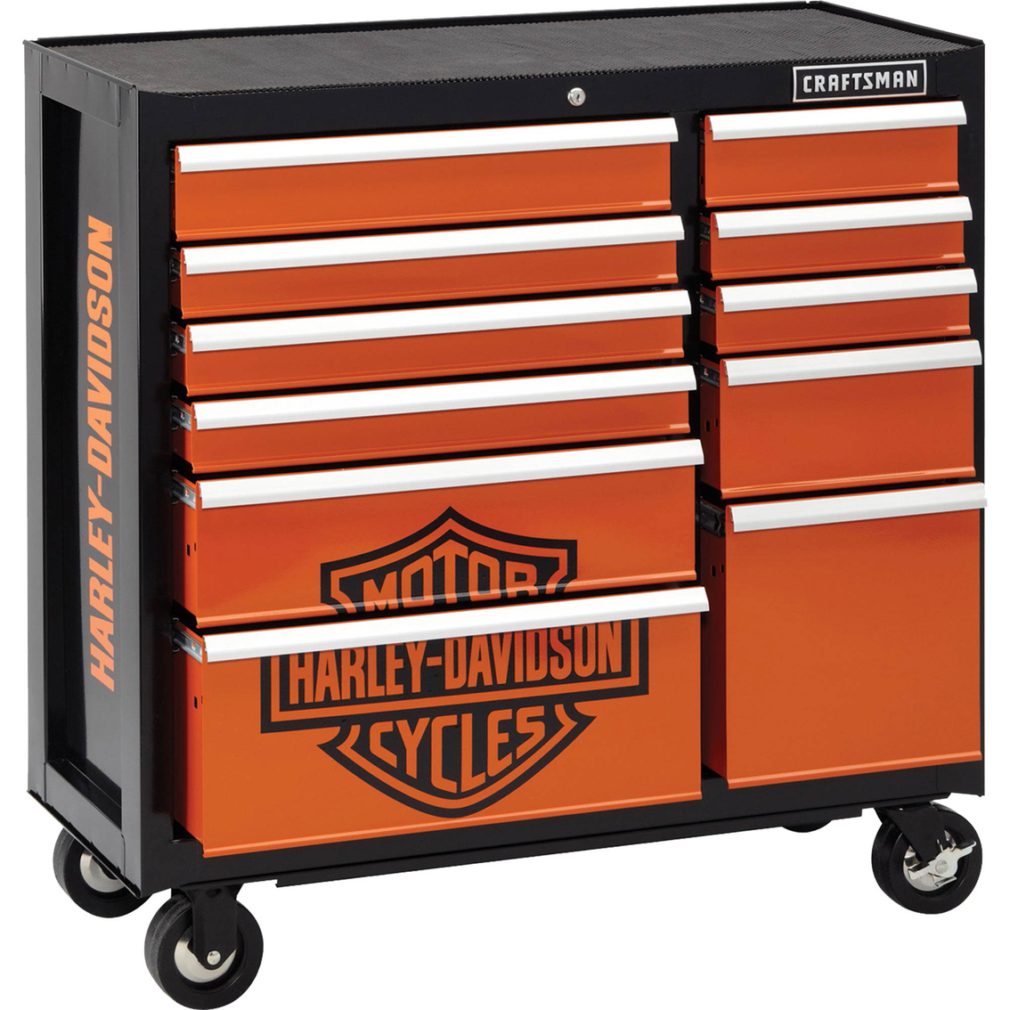 Craftsman Harley Davidson 40 In 11 Drawer Rolling Cart
