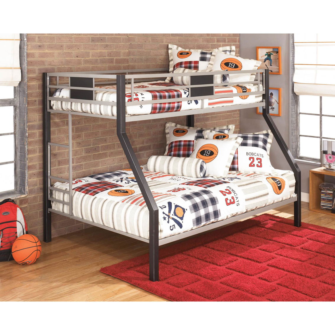 Signature Design By Ashley Dinsmore Twin Full Metal Bunk Bed Beds Home Appliances Shop