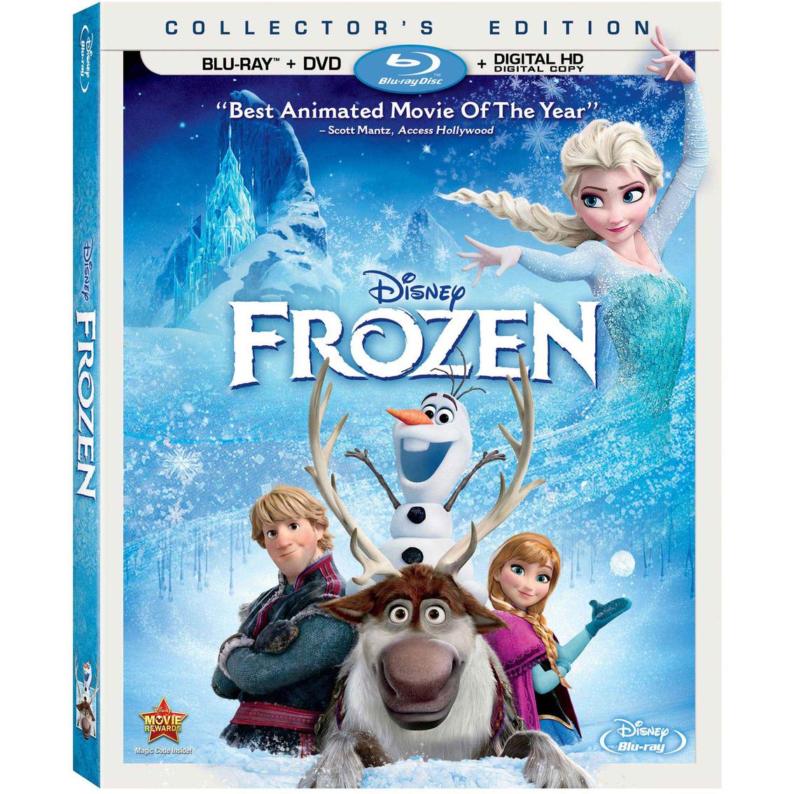 disney frozen collector's edition (blu-ray + dvd + digital hd