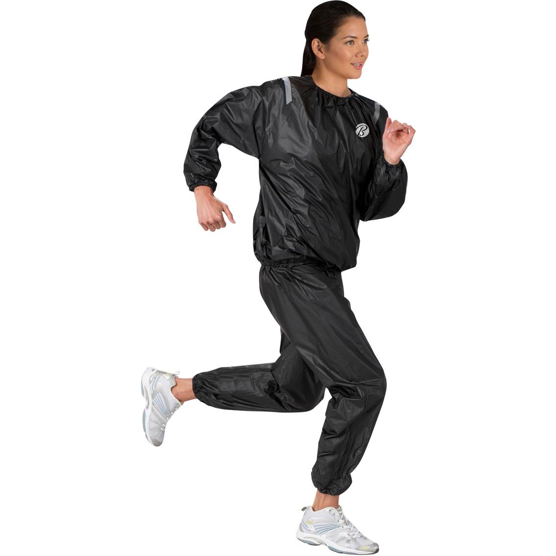 Bally Total Fitness Sauna Suit L/xl   Fitness Accessories   Sports