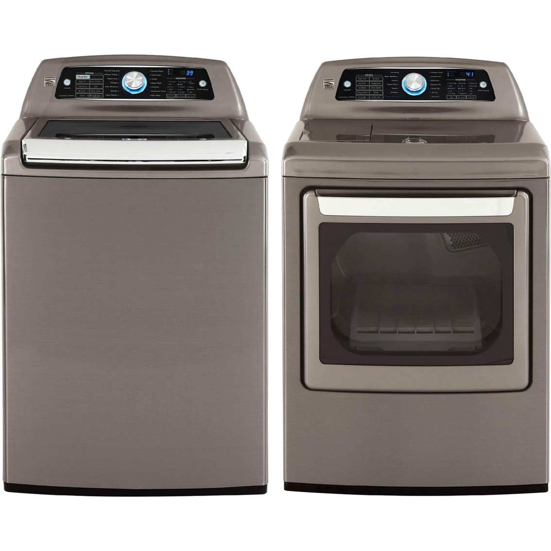 Kenmore Elite 5 2 Cu Ft Washer And 7 3 Cu Ft Electric