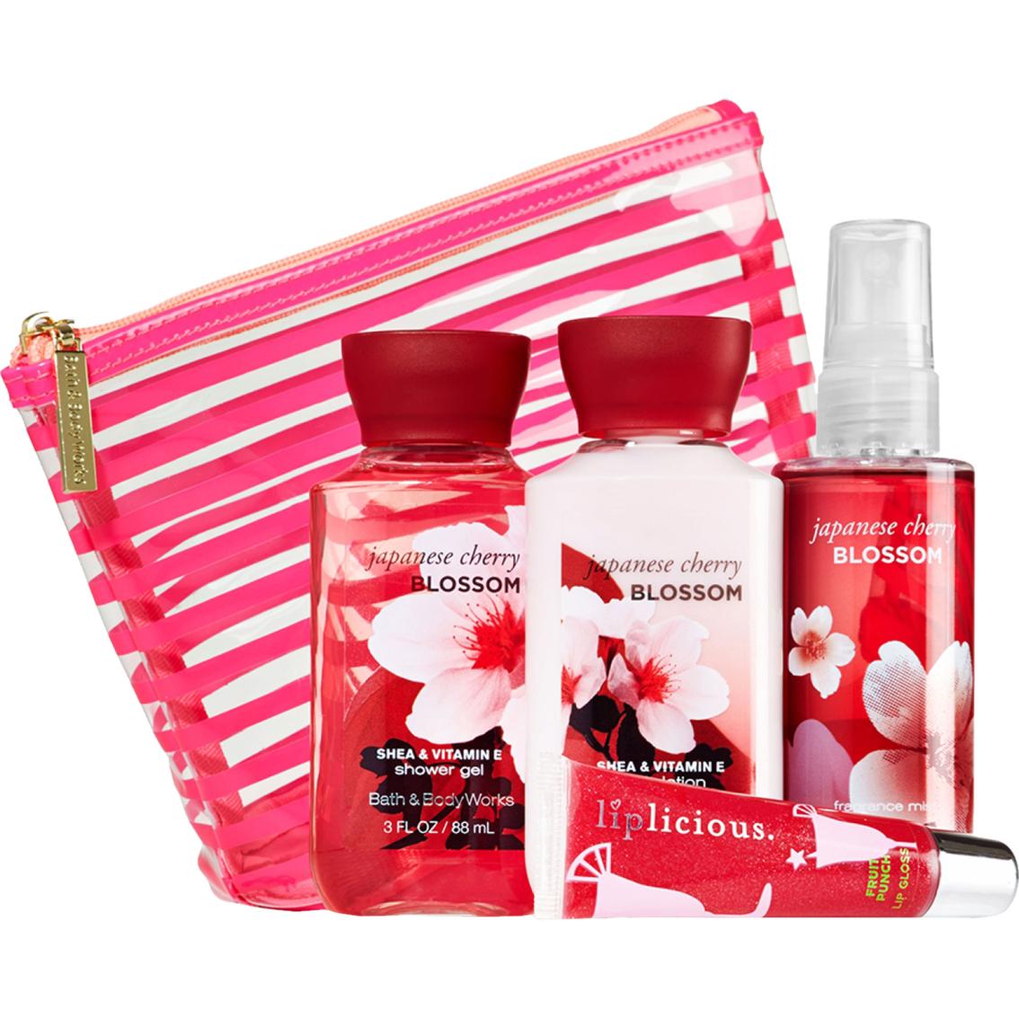 Bath and body works japanese cherry blossom mini ritual