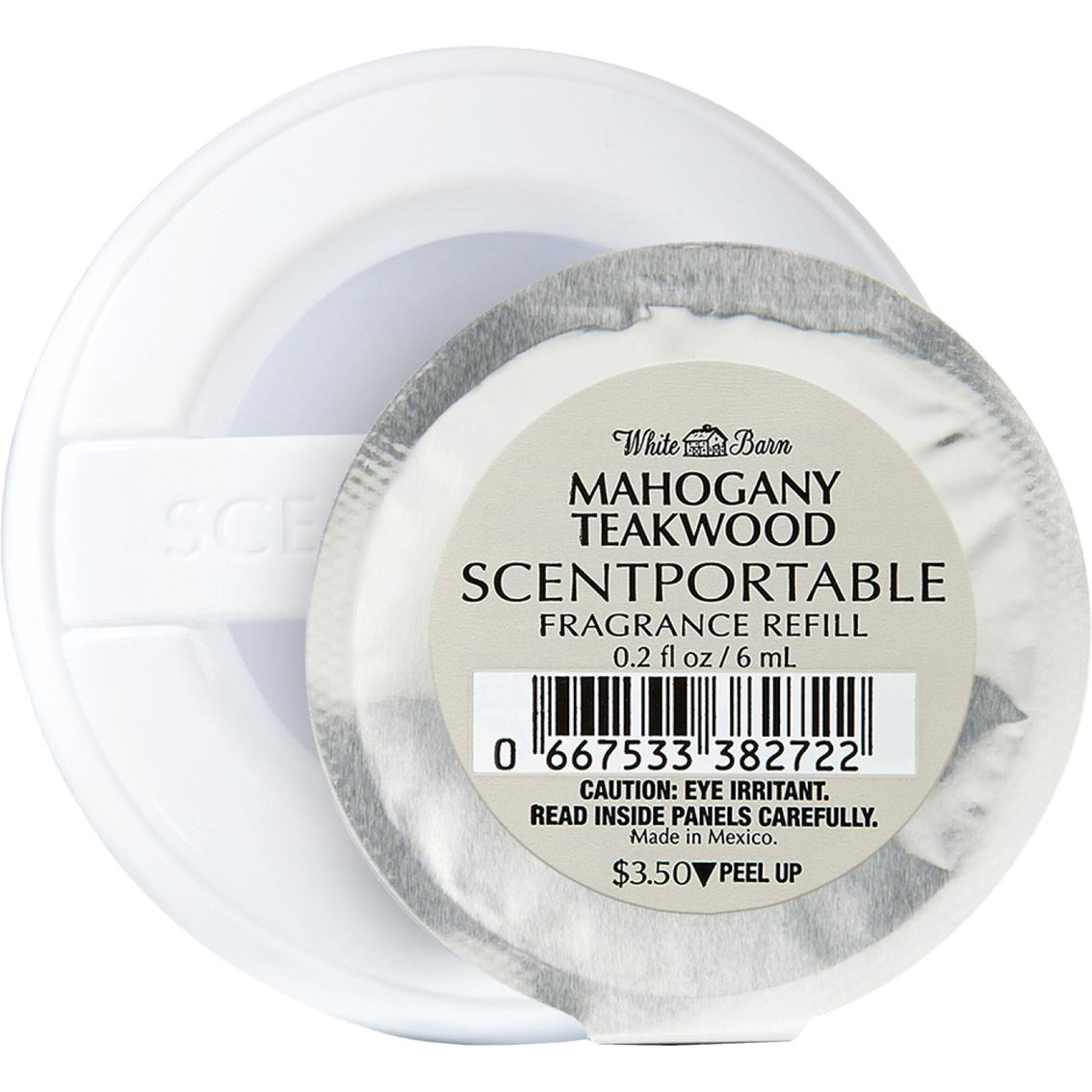 Bath Body Works Mahogany Teakwood Scentportable Refill