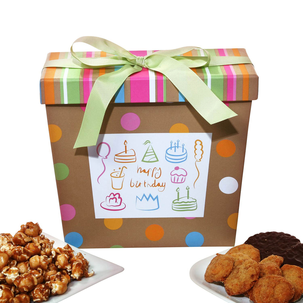 Birthday Gift Baskets Send Birthday Wishes With Gift: Alder Creek Birthday Wishes Gift Basket