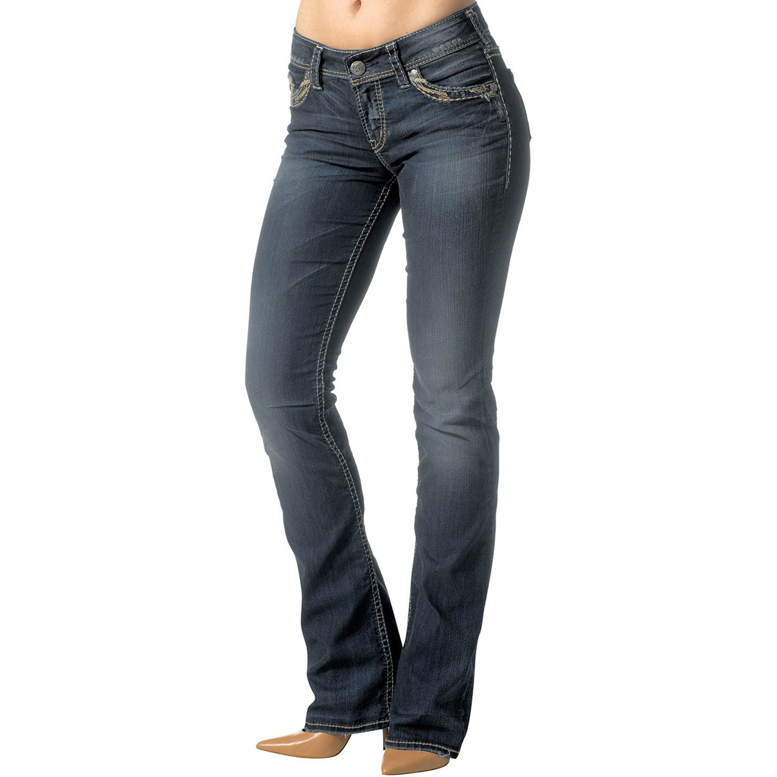 Silver Jeans Suki Mid Rise Slim Bootcut Jeans | Jeans | Apparel