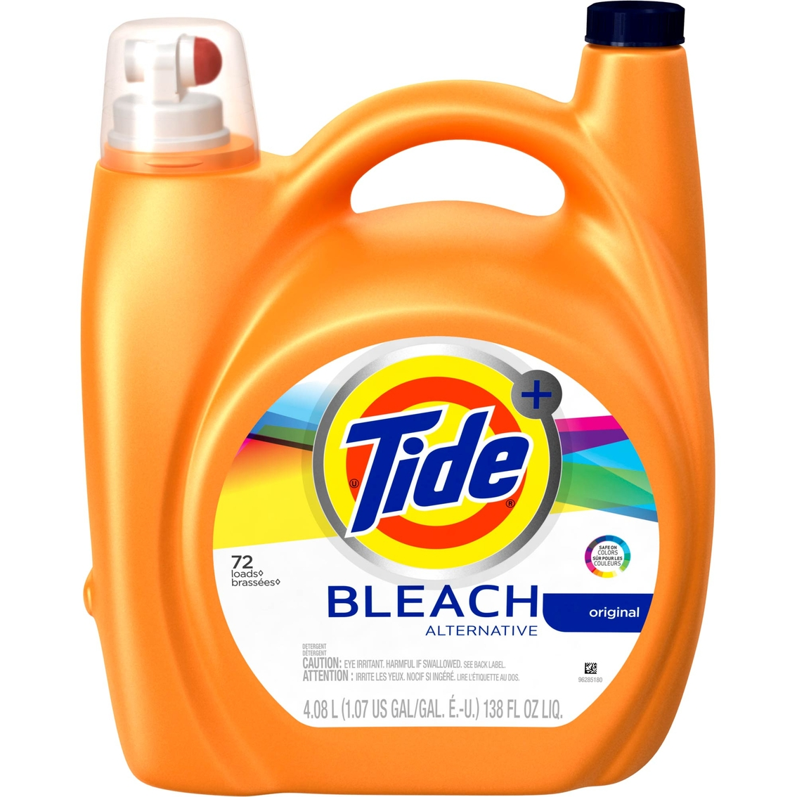 Tide Plus Bleach Alternative Original Scent Liquid Laundry Detergent 138 Oz