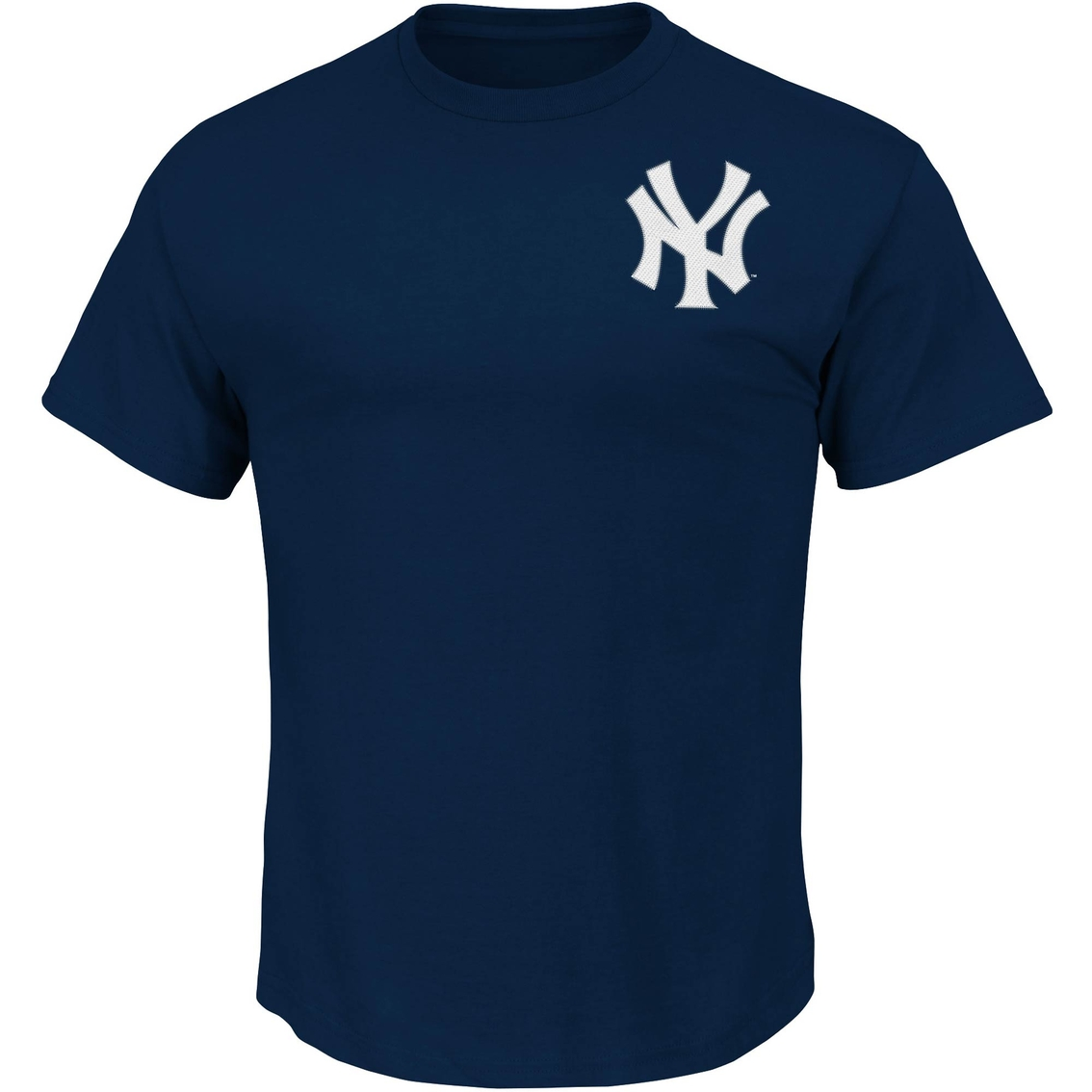 Majestic Mlb New York Yankees Men S Wordmark Tee Shirts