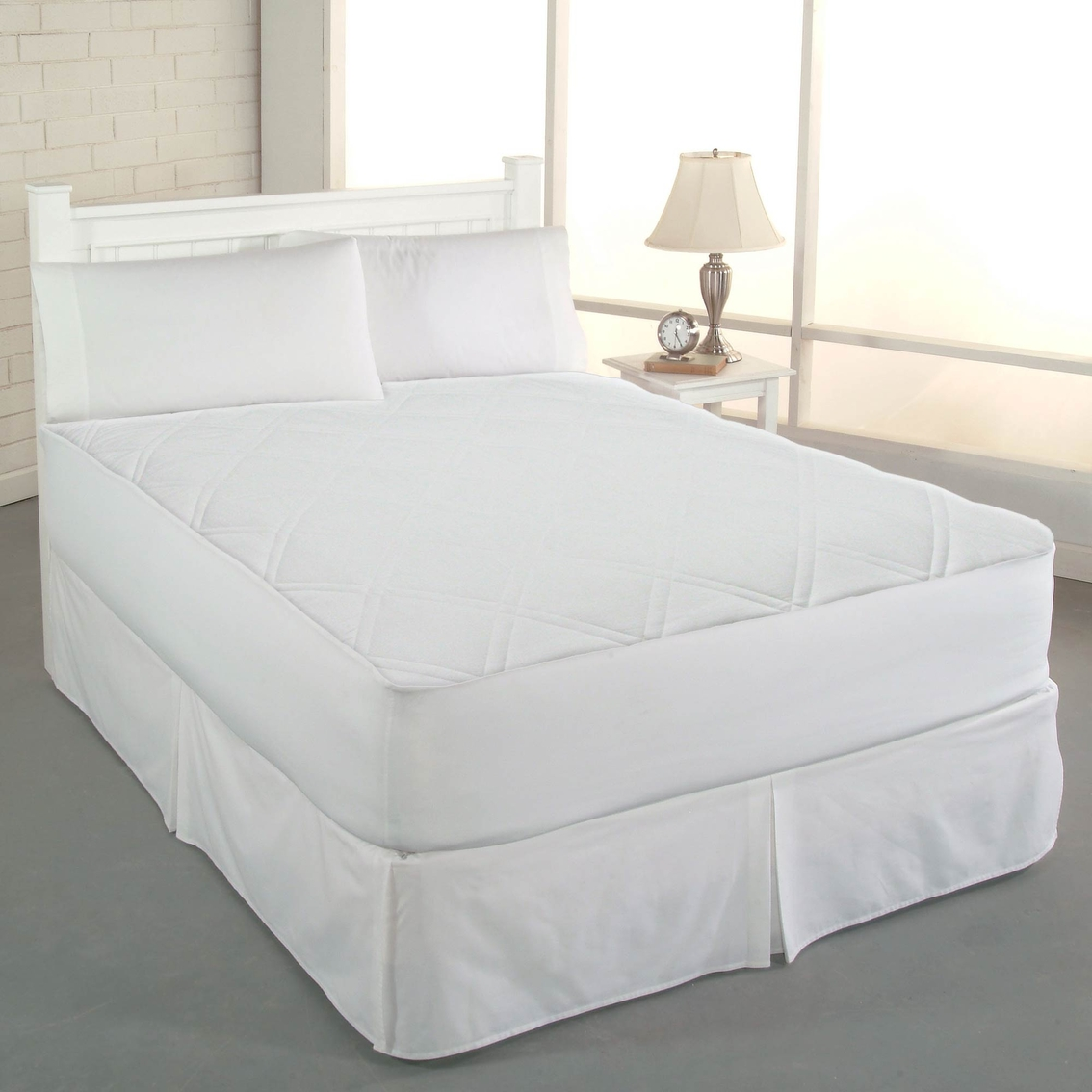 Clean Fresh Odor Eliminating Cotton Mattress Pad