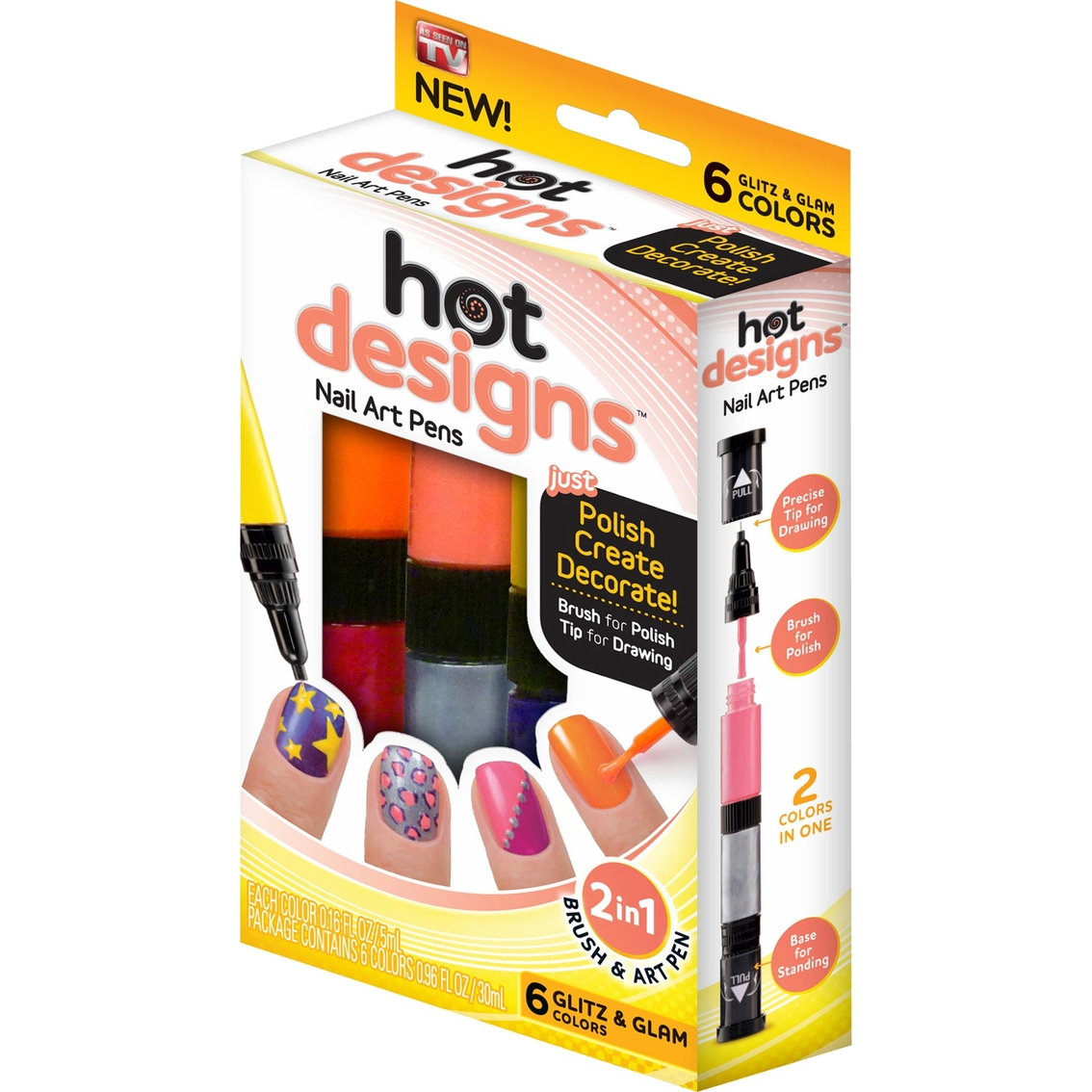 As Seen On Tv Hot Designs Nail Art Pen Glitz And Glam | Nails & Art ...