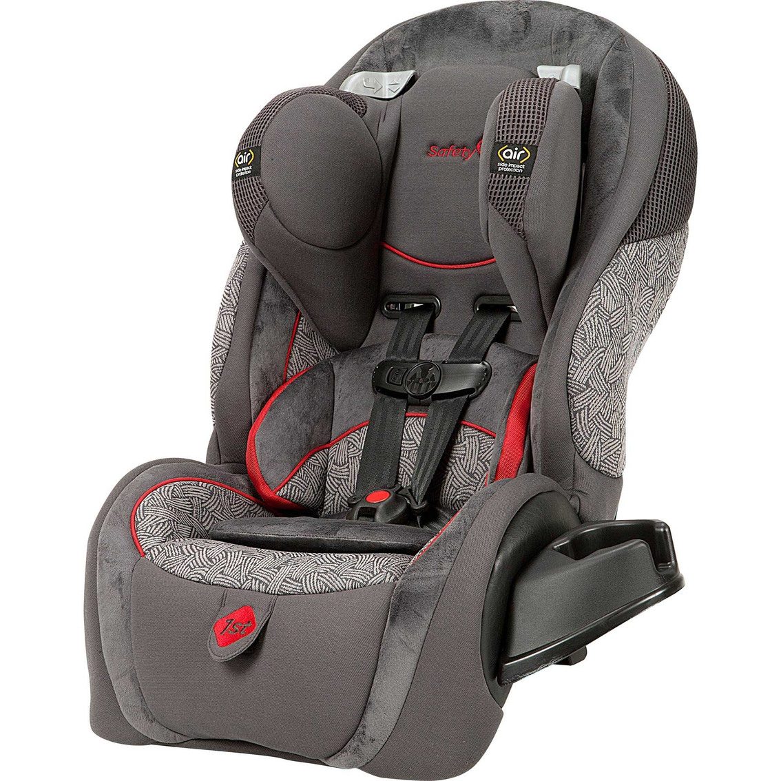 safety 1st complete air 65 convertible car seat black red baby clearance shop the exchange. Black Bedroom Furniture Sets. Home Design Ideas