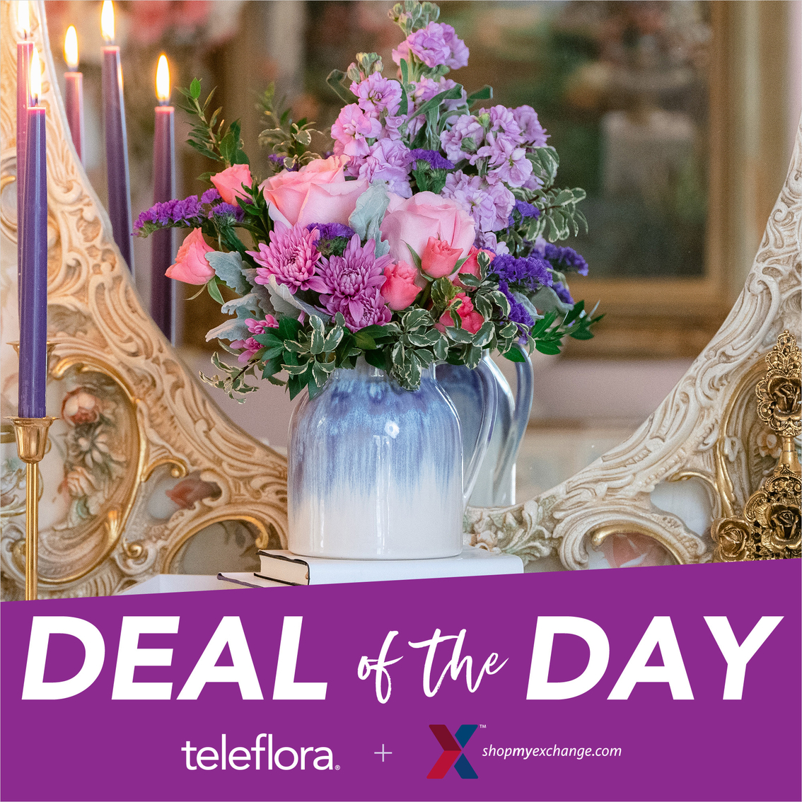 Teleflora Flowers | Specialty Stores | Gifts & Food | Shop The Exchange