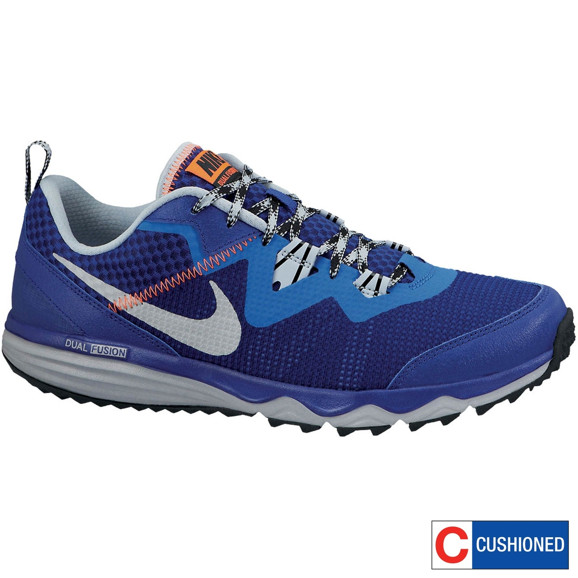 Mens Nike Dual Fusion Trail Running Shoes