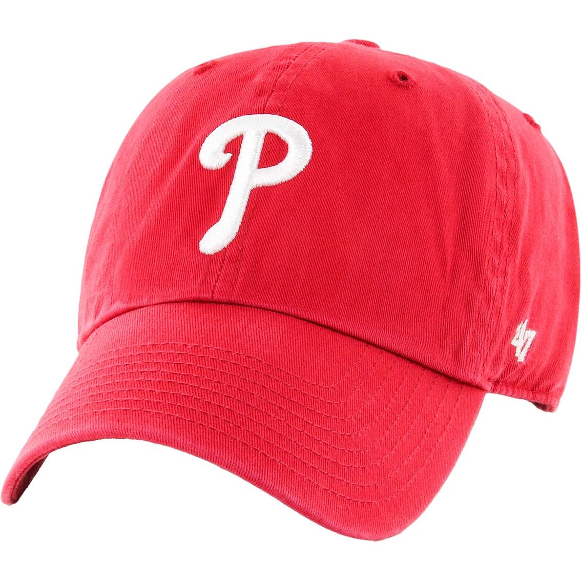 a8e732ad9ed 47 Brand Mlb Philadelphia Phillies Men s Clean Up Baseball Cap ...