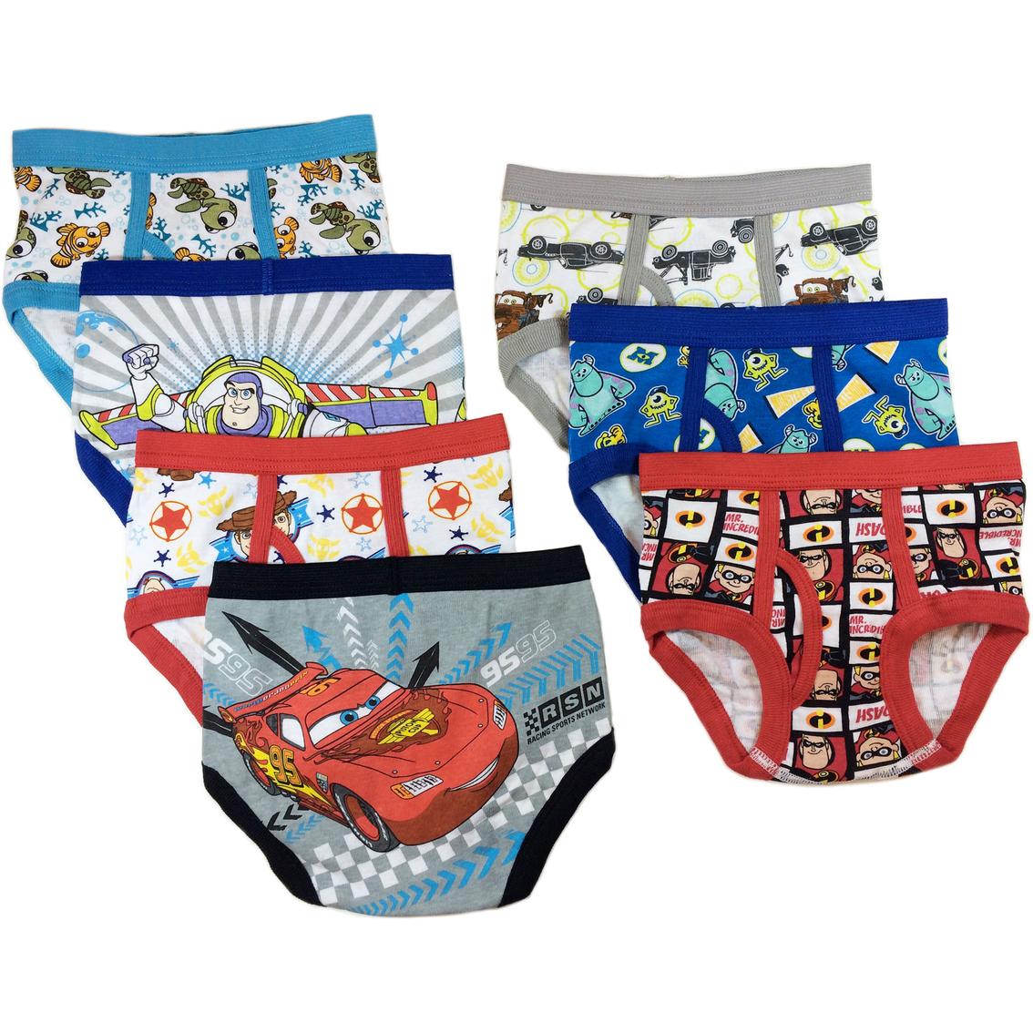 Disney Pixar Toddler Boys Underwear 7 Pk.   Underwear   Apparel ...