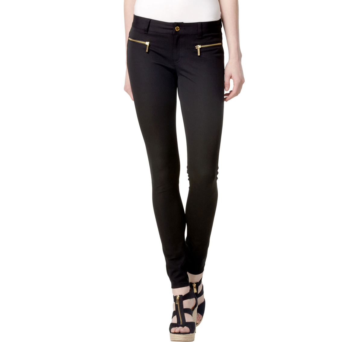 Michael Kors Stretch Twill Zip Pants | Pants | Apparel | Shop The ...