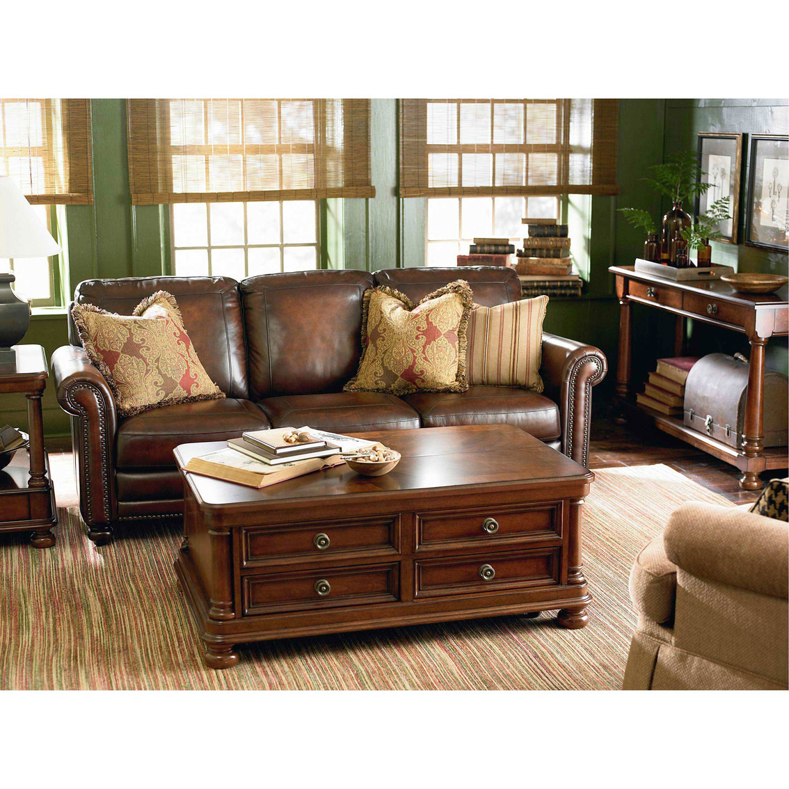 Bassett Hamilton 3 Pc. Living Room Set