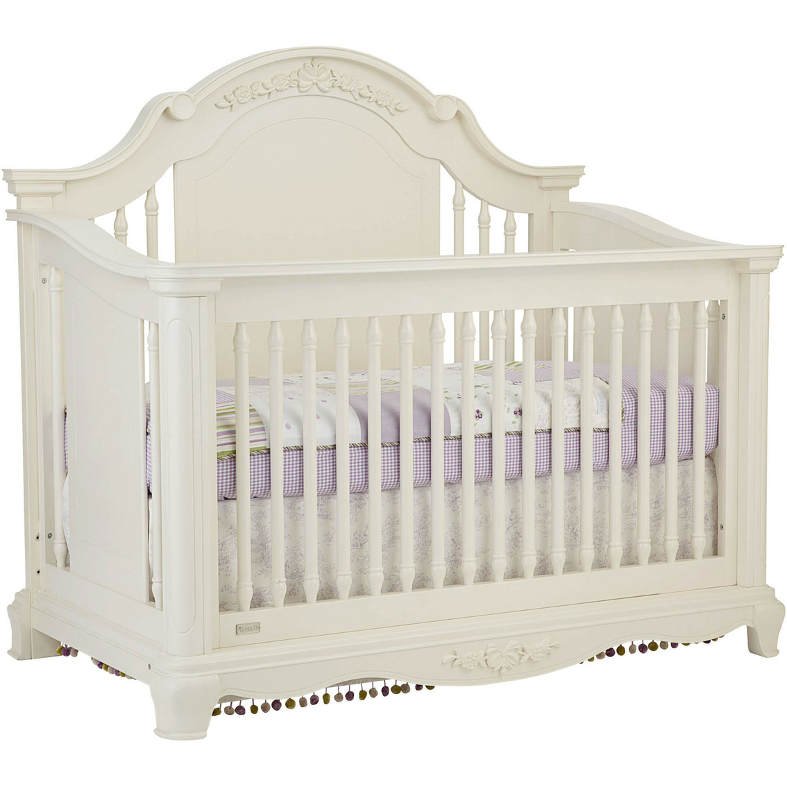 Bassett addison 4-in-1 stationary crib | cribs | baby & toys.