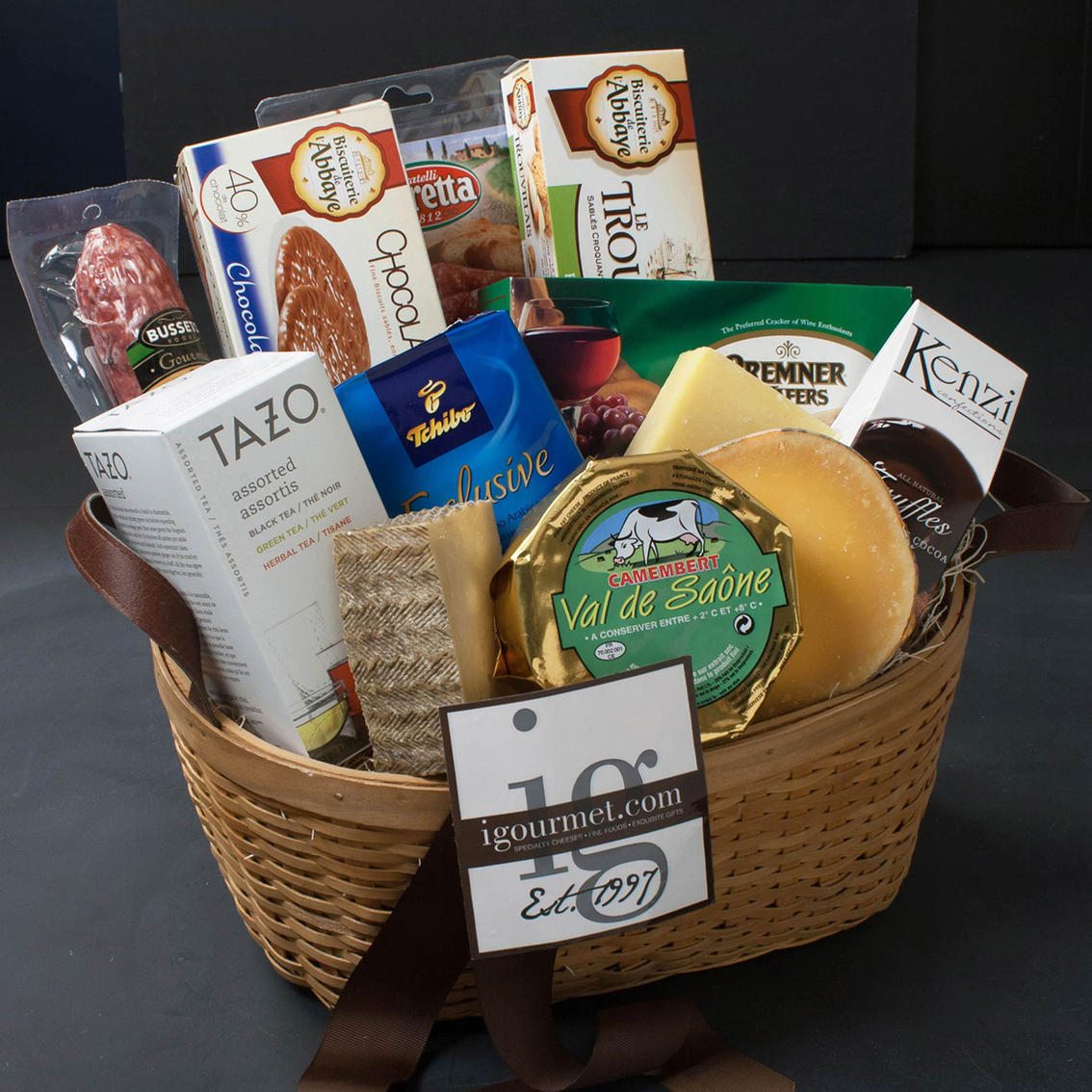The gourmet market sympathy gift basket gifts