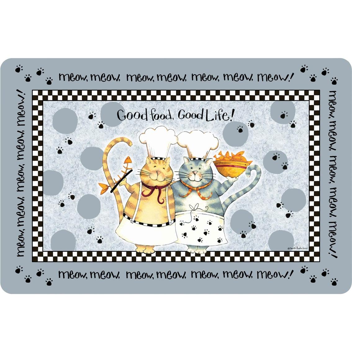 Kay Dee Designs Happy Cat Comfort Mat | Kitchen & Table Linens ...