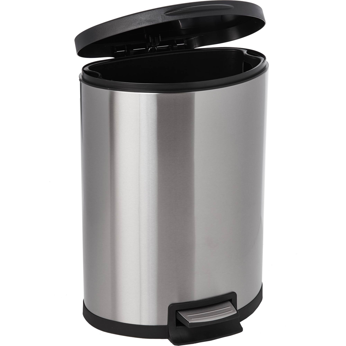 Simply Perfect 45l Semi Round Stainless Steel Step Bin