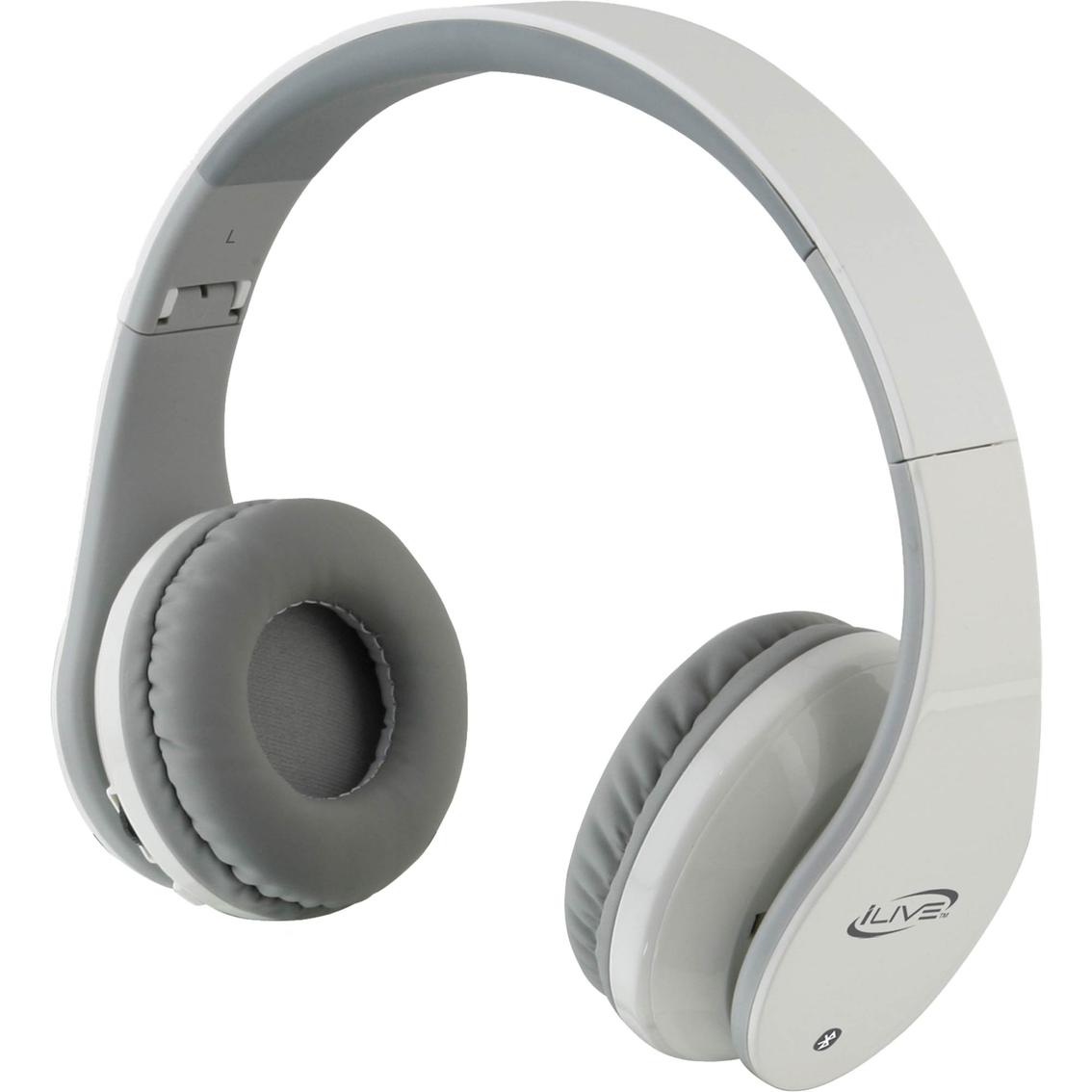 Purple bluetooth headphones neckband - iLive IAHB64 - headset Overview