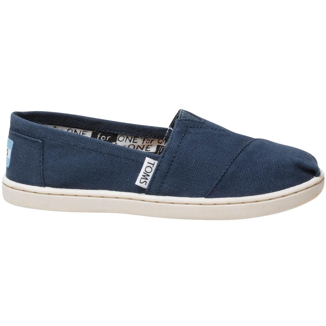6b19c6aea11 Toms Kids Classic Slip On Shoes