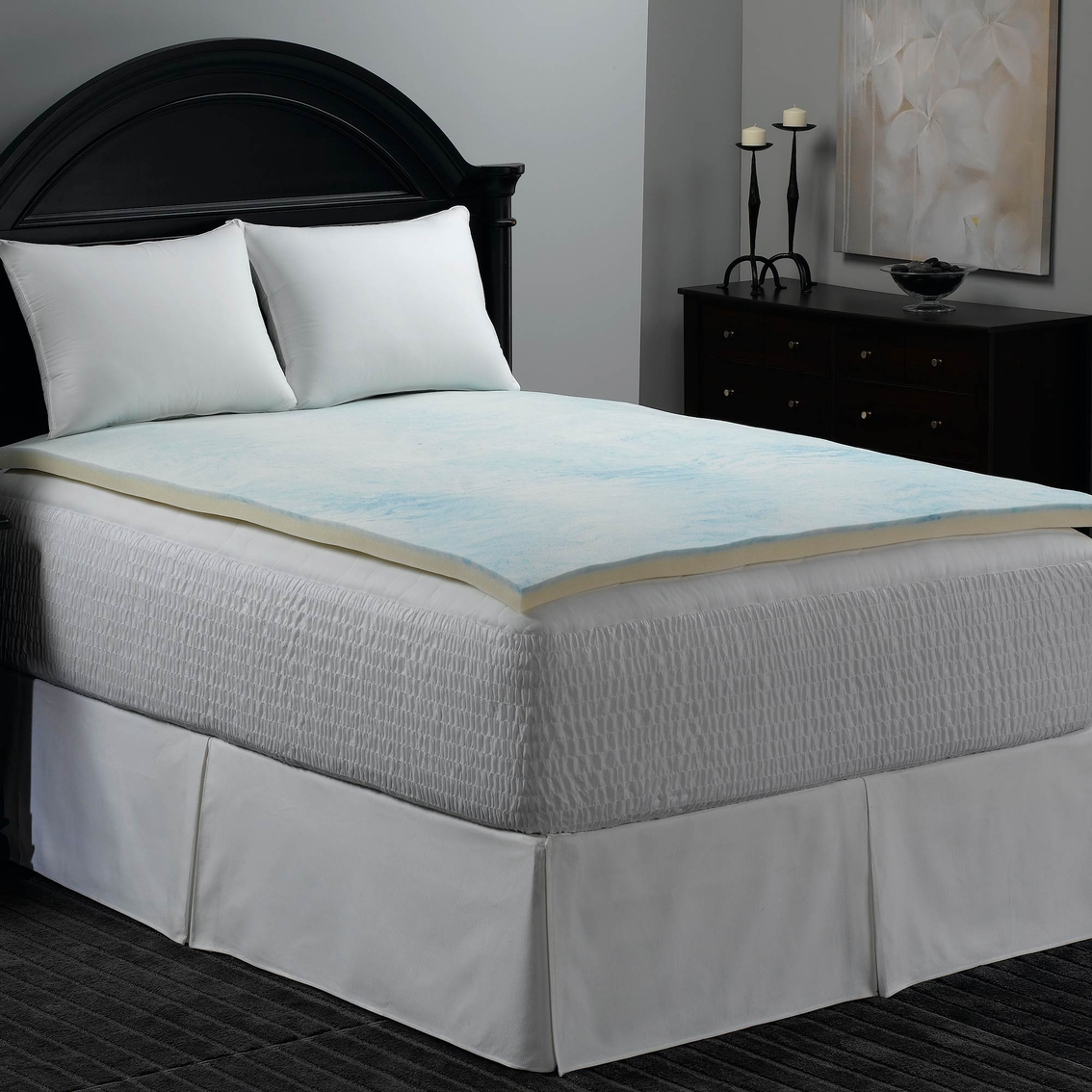 Beautyrest Geo Tech Memory Foam Topper Serta Simmons