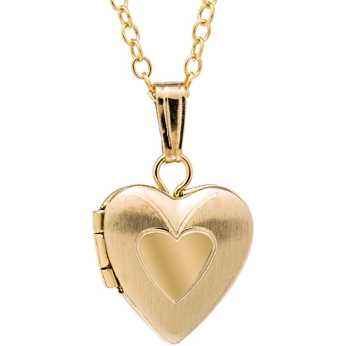 54f4d2783 Kids 14k Yellow Gold Filled Hand Engraved Heart Locket   Children's ...